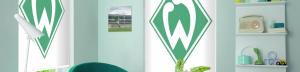 Foto Rollo mit Werder Bremen Logo